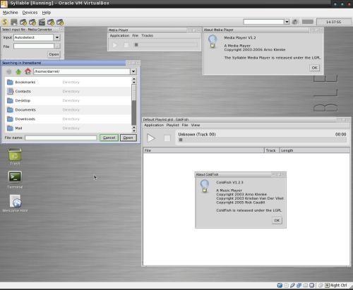 desktop quer gestellt